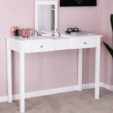 vanity table. Shop Costway Vanity Table Dressing Flip Top Desk Mirror 2 Drawers Furniture White - On Sale Free Shipping Today Overstock.com 19626757