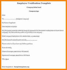 7 Employee Income Verification Letter Template This Is Charlietrotter