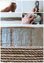 diy rope rug tutorial