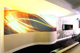 modern metal wall decor basement with curved walls arrow 2 thestark co art