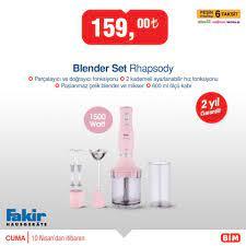 Bim Rhapsody Blender Set BİM ÜRÜNLERİ - Online Katalog