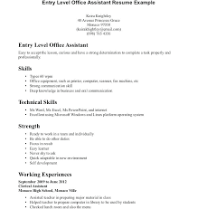 Amazing Resume Objective Examples Best of Objective For Resume Examples Entry Level Administrative Assistant