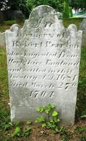Robert John Pearson, Sr. (c.1645 - 1704) - Genealogy