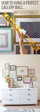 How to Hang a Perfect Gallery Wall... Without Nails