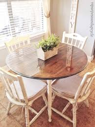 Chalk Paint Dining Room Table Makeover