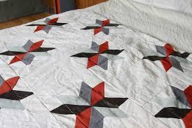 Easy Star Quilt Pattern   FaveQuilts.com &  Adamdwight.com