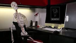 dead skeletons niantic meme template