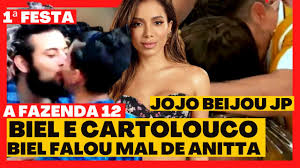 A FAZENDA 2020   PRIMEIRA FESTA TEM MUITOS BEIJOS E BIEL E CARTOLOUCO  PASSAM DO PONTO - YouTube