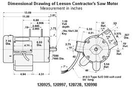 leeson 5 hp compressor motor wiring wiring diagrams motor wiring diagram 3 phase 1 5 hp 3450 rpm delta unisaw electric motor 115 230 volts leeson how to wire