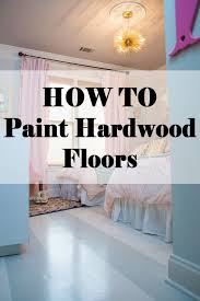 paint hardwood floor banner