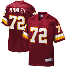 Men's Retired Pro Line Player Dexter Washington Redskins Jersey Game Nfl Burgundy Manley