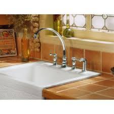 Kohler Revival Kitchen Faucet Kohler Faucet K 16109 4a Bn Revival Vibrant Brushed Nickel Two