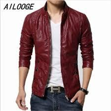 ซ อท ไหน mens leather suede jacket male red faux coats men fashion slim fit motorcycle jackets and coats black brown leather jackets