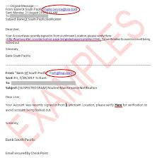 Phishing Emails Bsp Tonga