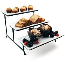 Party Food Display Stands Unique Amazon Food Serving Tray Set 32 Tier Metal Display Stand With