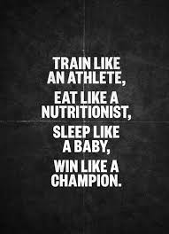 Athlete Quotes Custom Train Like An Athlete Fitness Quotes IMG