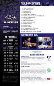 Week 13 Lions Vs Ravens Game Program By Baltimore Ravens