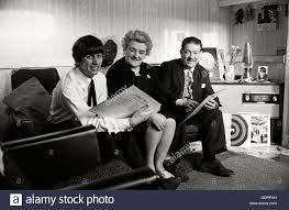 Ringo Starr with his mother Elsie Starkey and his stepfather Harry Stock  Photo - Alamy