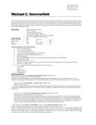 Pilot Resume Resume Technical Resume Templates 79