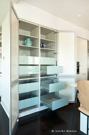 Kitchen No Wall Cabinets Dining Room Partition In Toned Plywood Becomes The Visual Focal