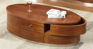 curve walnut coffee table jf oak furniture solutions