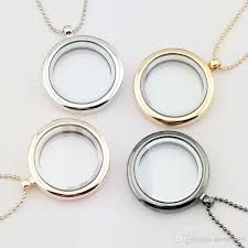 whole floating locket necklace 30mm