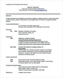 Good Objective For Nursing Resume Nursing Resume Objective Sample
