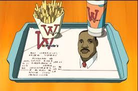 Image result for boondocks, MLK, mcwunclers