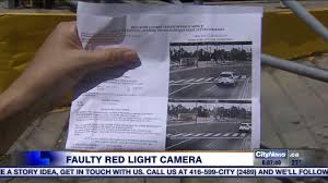 Red Light Photo Ticket Toronto Man Says He Received 325 Ticket After Making Legal Turn