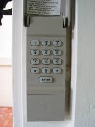 keypad for garage doorGarage Door Keypad