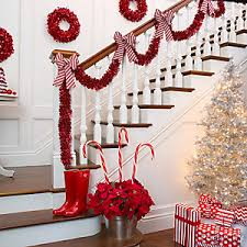 Candy Striped Stairway Decor Idea ...