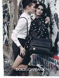 The androgynous homoerotic dolce and gabbana ads are usually.