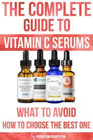 Vitamin C Comparison Chart Best Vitamin C Serum Reviews For Face 2019 Comparison