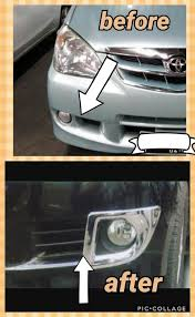 Jual Cover Fog Lamp Chrome Garnish Fog Lamp Avanza Xenia Vvt Murah
