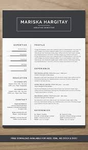 Resume Templates Free Download Creative 75 Best Free Resume Templates Of 2018