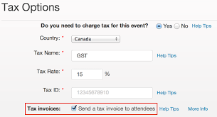 Eventbrite Help On Charge And To Centre How Invoices Attendee Tax Provide Tickets