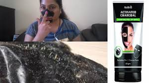 healthvit activated charcoal l off mask review charcoal l off mask review makeup secrets