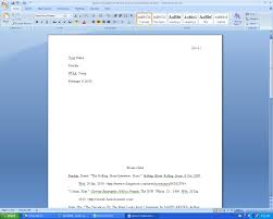 how do i write a mla style paper