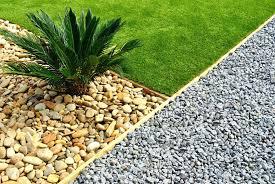 gardening ideas using gravel stones