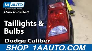Dodge Caliber Side Light Bulb Replacement How To Replace Tail Lights 08 12 Dodge Caliber