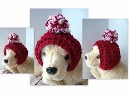 Crochet Dog Hat Pattern Classy DOGGIE HAT How To Crochet A Dog Hoodie Hat Headband Pull On Hat