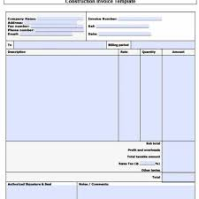 15+ Awesome Free Contractor Invoice Template Word ~ Premium Worksheet