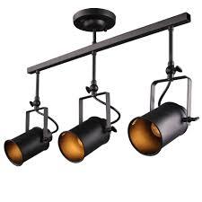 vintage track lighting. LALUZ Adjustable Track Lighting Ceiling Light 3-Light Spotlight Lights - Amazon.com Vintage