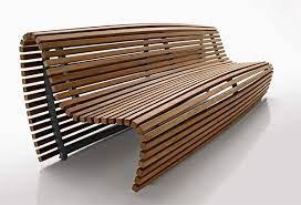 patio bench modern