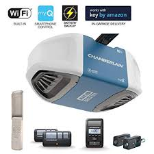 Chamberlain Technical Support Chamberlain Group Chamberlain B970 Smartphone Controlled Ultra Quiet Strong Belt Drive Garage Door Opener With Battery Backup And Max Lifting Power