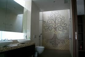 Mosaic Bathroom Floor Tile Indoor Mosaic Tile Bathroom Floor Glass Lopio Collection