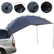 Outdoor Camping 4 People SUV Shelter Truck Car Trailer Tent Waterproof UV Canopy Sunshade