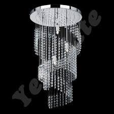 trendy chandeliers light