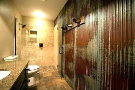 galvanized metal bathroom walls galvanized shower walls corrugated how to install galvanized shower walls home decorators