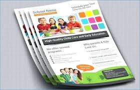 High School Flyer Templates Flyers Template And Schools Fresh Free